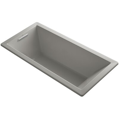 Underscore 66 x 32 Soaking Bathtub Finish: Cashmere
