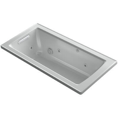 Archer 60 x 30 Drop-in Whirlpool Finish: Ice Grey