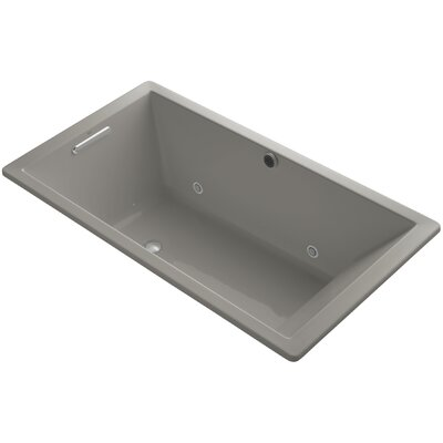 Underscore 66 x 36 Air Bathtub Finish: Cashmere