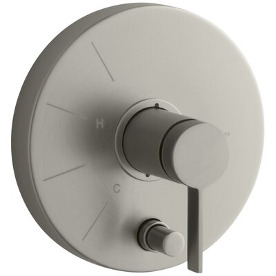 Stillness Shower Handle Trim with Diverter Finish: Vibrant Brushed Nickel