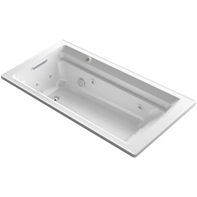 Archer 72 x 36 Air / Whirlpool Bathtub Finish: White