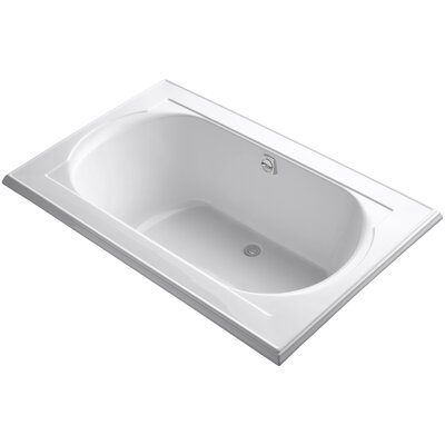 Memoirs 66 x 42 Soaking Bathtub Finish: White