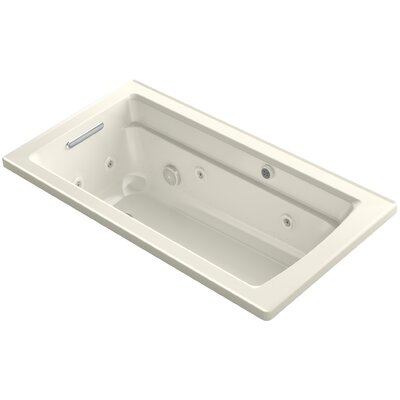 Archer 60 x 32 Air / Whirlpool Bathtub Finish: Biscuit