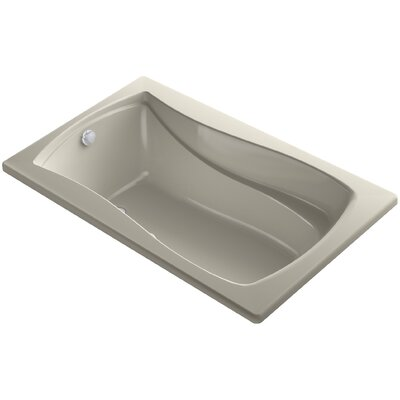 Mariposa Bubblemassage 60 x 36 Soaking Bathtub Finish: Sandbar