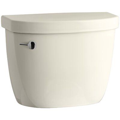 Cimarron 1.28 GPF Tank with Insuliner Tank Liner Finish: Almond