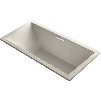 Underscore Vibracoustic 72 x 36 Soaking Bathtub Finish: Sandbar