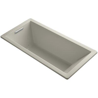 Underscore 66 x 32 Air Bathtub Finish: Sandbar