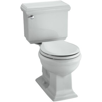 Memoirs Classic Comfort Height Two-Piece Round-Front 1.28 GPF Toilet with Aquapiston Flush Technology and Insuliner Tank Liner Finish: Ice Grey