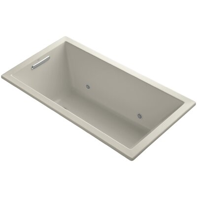 Underscore 60 x 32 Soaking Bathtub Finish: Sandbar