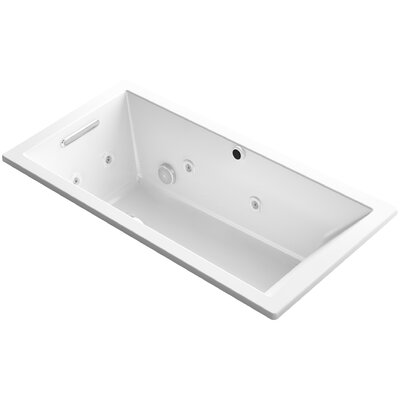 Underscore 60 x 30 Air / Whirlpool Bathtub Finish: White