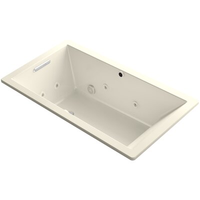 Underscore 66 x 36 Air / Whirlpool Bathtub Finish: Almond