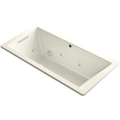 Underscore 66 x 32 Air / Whirlpool Bathtub Finish: Biscuit
