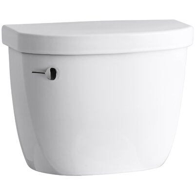 Cimarron 1.28 GPF Tank with Insuliner Tank Liner Finish: White