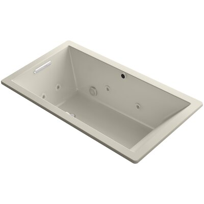 Underscore 66 x 36 Air / Whirlpool Bathtub Finish: Sandbar