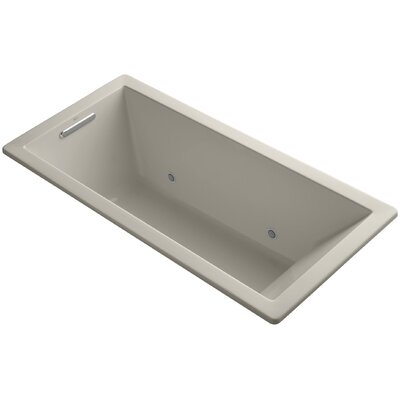 Underscore 66 x 32 Soaking Bathtub Finish: Sandbar