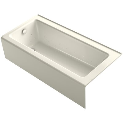Bellwether 66 x 32 Air Bathtub Finish: Biscuit
