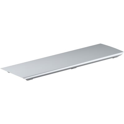 Bellwether Aluminum Drain Cover Finish: Bright Silver