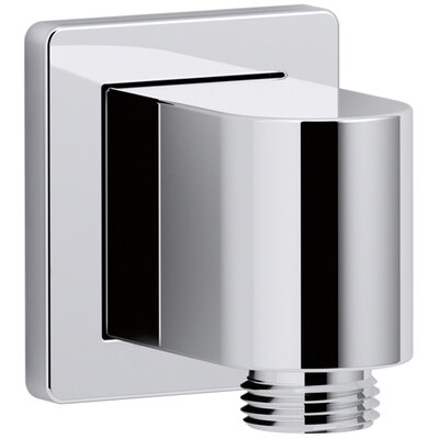 Awaken Wall-Mount Supply Elbow Finish: Polished Chrome