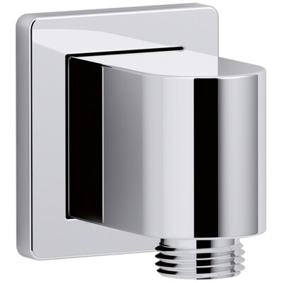 Awaken Wall-Mount Supply Elbow with Check Valve Finish: Polished Chrome
