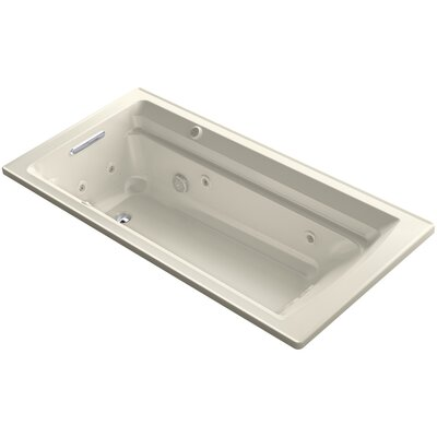Archer 72 x 36 Air / Whirlpool Bathtub Finish: Almond
