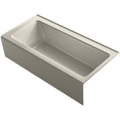 Bellwether 66 x 32 Soaking Bathtub Finish: Sandbar