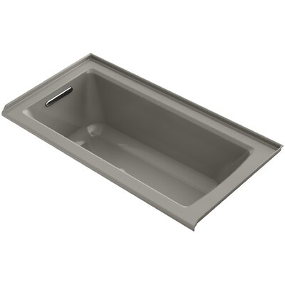 Archer 60 x 30 Air Bathtub Finish: Cashmere, Drain Location: Left