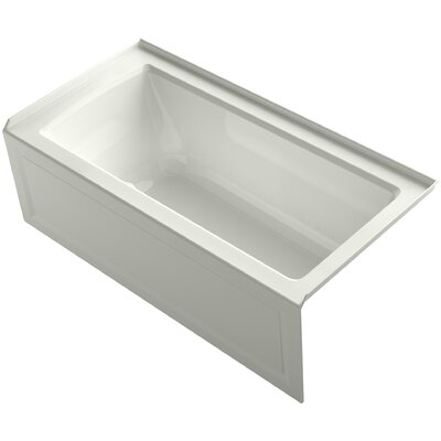 Archer 60 x 30 Air Bathtub Finish: Dune, Drain Location: Right