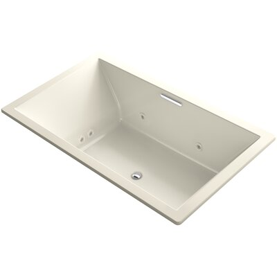 Underscore 72 x 42 Air / Whirlpool Bathtub Finish: Almond