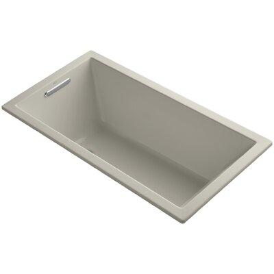 Underscore Vibracoustic 60 x 32 Soaking Bathtub Finish: Sandbar
