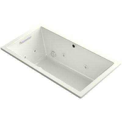 Underscore 60 x 32 Air / Whirlpool Bathtub Finish: Dune