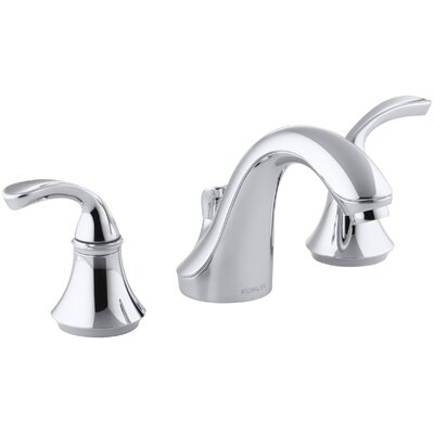 Fort� Impressions Widespread Double Handle Bathroom Faucet with Drain Assembly