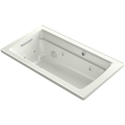 Archer 60 x 32 Air / Whirlpool Bathtub Finish: Dune