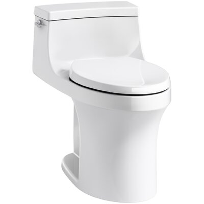 San Souci Comfort Height 1.28 GPF Elongated One-Piece Toilet Finish: White