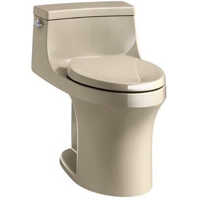 San Souci Comfort Height 1.28 GPF Elongated One-Piece Toilet Finish: Mexican Sand