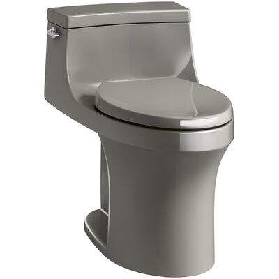 San Souci Souci Comfort Height 1.28 GPF Elongated One-Piece Toilet Finish: Cashmere