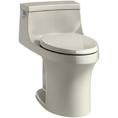 San Souci Souci Comfort Height 1.28 GPF Elongated One-Piece Toilet Finish: Sandbar