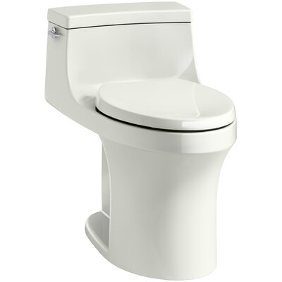 San Souci Souci Comfort Height 1.28 GPF Elongated One-Piece Toilet Finish: Dune