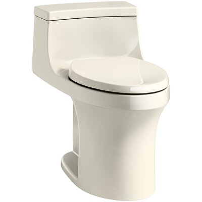 San Souci Souci Comfort Height 1.28 GPF Elongated One-Piece Toilet Finish: Almond
