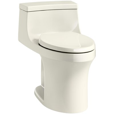 San Souci Comfort Height 1.28 GPF Elongated One-Piece Toilet Finish: Biscuit