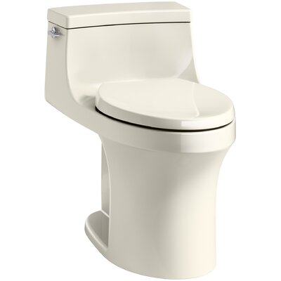 San Souci Comfort Height 1.28 GPF Elongated One-Piece Toilet Finish: Almond