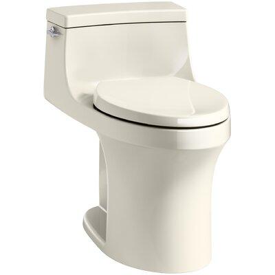 San Souci Souci Comfort Height 1.28 GPF Elongated One-Piece Toilet Finish: Almond