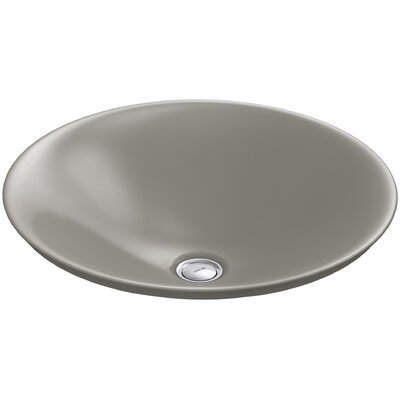 Carillon Wading Pool Circular Vessel Bathroom Sink Finish: Cashmere