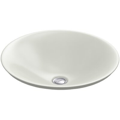 Carillon Wading Pool Circular Vessel Bathroom Sink Finish: Dune