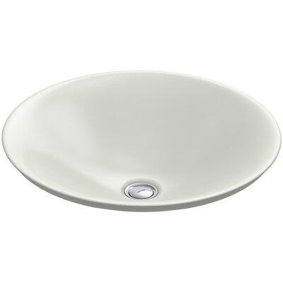 Carillon Ceramic Circular Vessel Bathroom Sink Finish: Dune