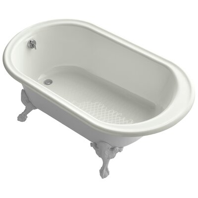 Iron Works 66 x 36 Soaking Bathtub Finish: Dune