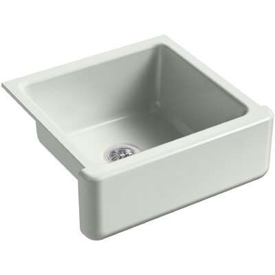 Whitehaven Self-Trimming 23-11/16 x 21-9/16 x 9-5/8 Under-Mount Single-Bowl Sink with Tall Apron Finish: Sea Salt
