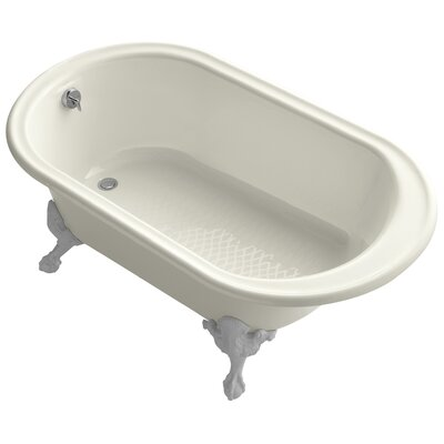 Transitional 66 x 36 Soaking Bathtub Finish: Biscuit