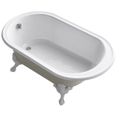 Iron Works 66 x 36 Soaking Bathtub Finish: White