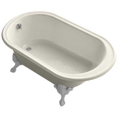 Iron Works 66 x 36 Soaking Bathtub Finish: Almond