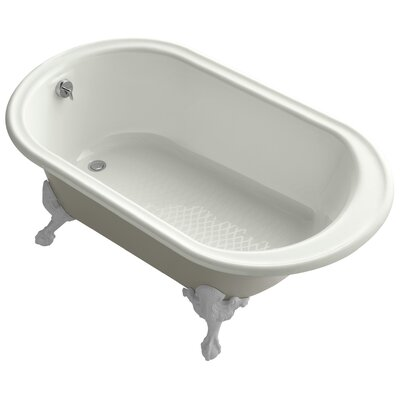 Transitional 66 x 36 Soaking Bathtub Finish: Dune